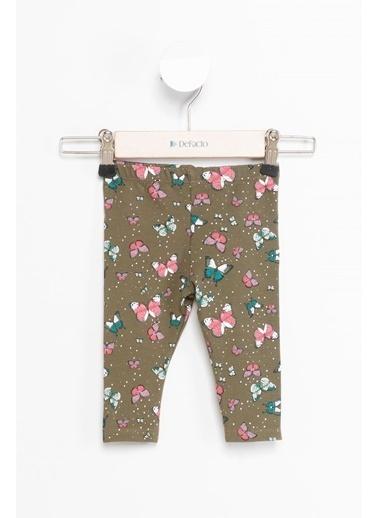 DeFacto Kız Bebek Elastik Belli Pantolon Yeşil